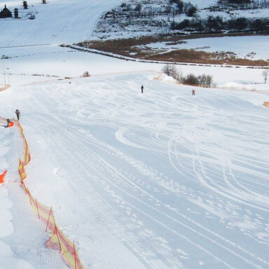 Hill for Skiing