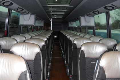 bus Hunter mountain