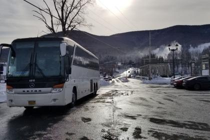 Bus Trip to Hunter Mountain